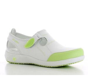 Details zu Leder Praxisschuhe Schuhe für Pflege & Medizin Berufe Berufsschuhe Clogs 36 42