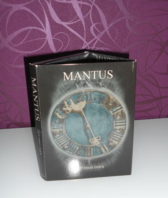 MANTUS - Zeit muss enden 1999 - 2005 - 2 CD Digi Box - RARITÄT in TOP Zustand