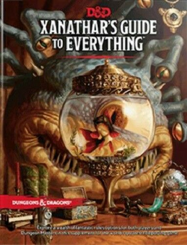 Dungeons And Dragons Rpg - Xanathars Guide pour Everything
