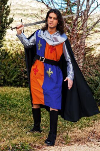NEUF! Mardi Gras Carnaval Costume-Tunique Médiévale Guerrier-Taille 54 L