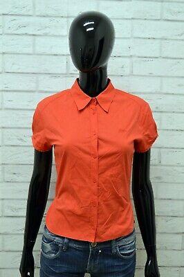 Camicia Donna Guess Taglia Size S Maglia Shirt Woman Camicetta Cotone Elastico