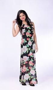 Summer-Party-Evening-Premium-Quality-Chiffon-Maxi-Curve-Plus-Size-10-24