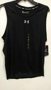 Men/'s Under Armour UA Qualifier Singlet Vest 1326586 New Size L