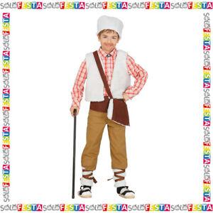 Costume Natività Pastore Pastorello Bimbo Bambino per