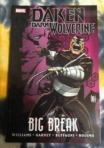 DAKEN-DARK-WOLVERINE-Big-Break-TPB-Marvel-Comics-New