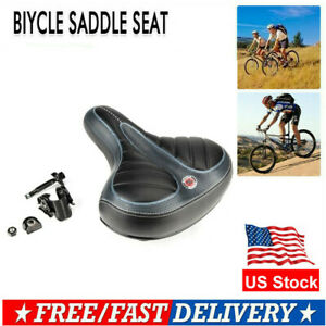 US Wide  Bum Saddle Seat Bike Bicycle Gel Cruiser Comfort Sporty Soft Pad