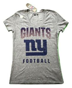 Womens-NFL-Team-Apparel-New-York-Giants-Football-Triblend-Shirt-NWT-M