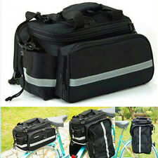 NEW Multi Cycling Bike Travel Bicycle Rear Seat Pannier shoulder Bag Pouch