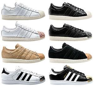 multiple colors united kingdom on feet at Détails sur Adidas Originals Superstar 80s W 3D MT Baskets Femmes Chaussures