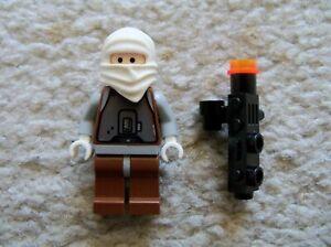 LEGO-Star-Wars-Rare-Classic-Bounty-Hunter-Dengar-w-Weapon-Excellent