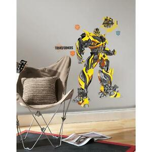 "Giant BUMBLEBEE Wall Decals Mural TRANSFORMERS Room Decor Stickers 25"" x 39"""