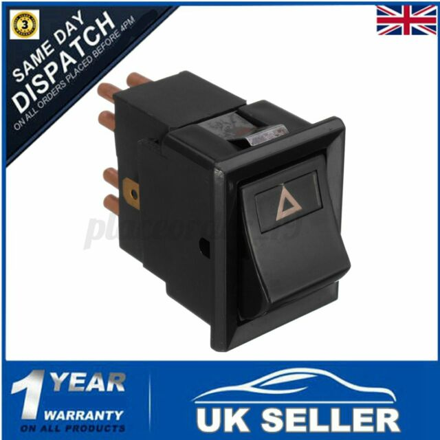 HAZARD WARNING LIGHT LAMP SWITCH YUF101490 For LAND ROVER DEFENDER 90 110