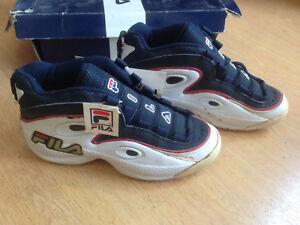 Details about OG 1996 Fila Grant Hill III vintage sneakers size US8.5 UK7.5 1 B195C SUPER RARE