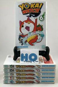 Manga-Yo-Kai-Watch-Tomos-1-de-6-Ed-Kaze-como-Nuevos