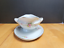 thumbnail 5 - Rosenthal Modell Gravy Boat with Attached Underplate R1817 White Pink Flowers