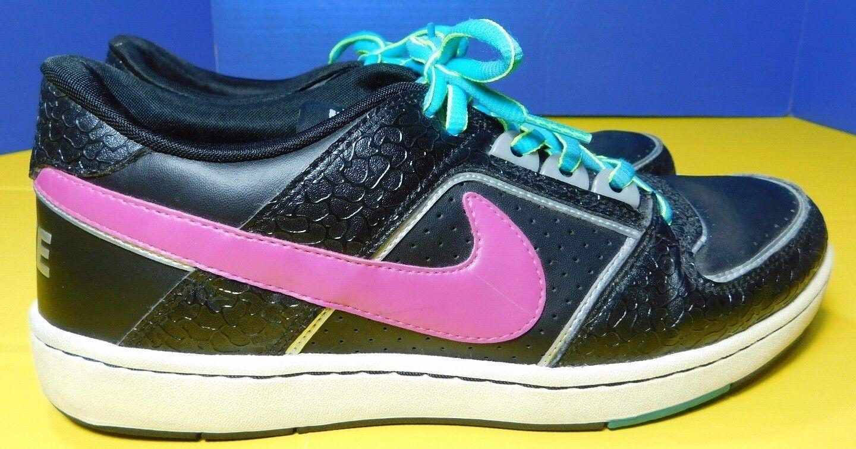 Nike Size Delta Lite Low Women's Size Nike 11 Black & Purple 365950-051 e331b0