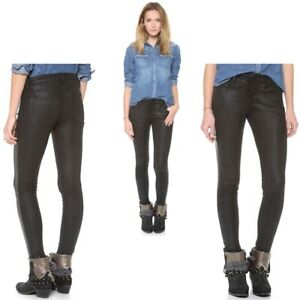 famous brand beautiful design cheap sale Details about Joe's Jeans Leather Suede Tux Skinny Ankle Pants Size 32