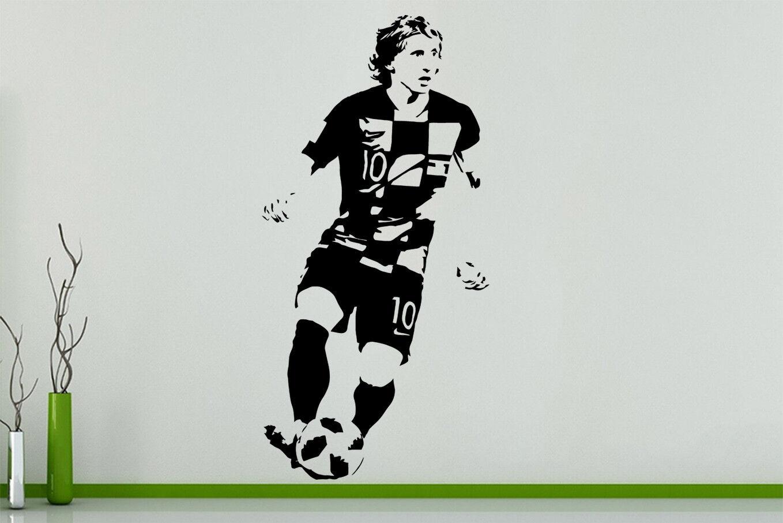 Luka Modric Football Spieler Kroatisch Fussball Lüfter Schlafzimmer Aufkleber