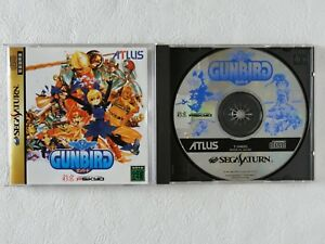 GUNBIRD-Gun-Bird-SS-Atlus-Sega-Saturn-From-Japan