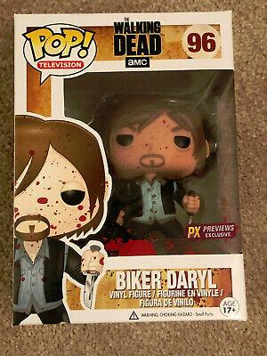 Bloody Version Biker Daryl Vinyl Figure Funko Pop The Walking Dead