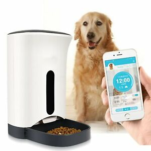 Details about WiFi Remote Controled Automated Pet Feeder with Android /  iPhone App 2018 Model