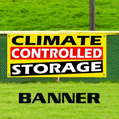 Store New Many Sizes Available Advertising Air Conditioned Storage Units 13 oz Heavy Duty Vinyl Banner Sign with Metal Grommets Flag,