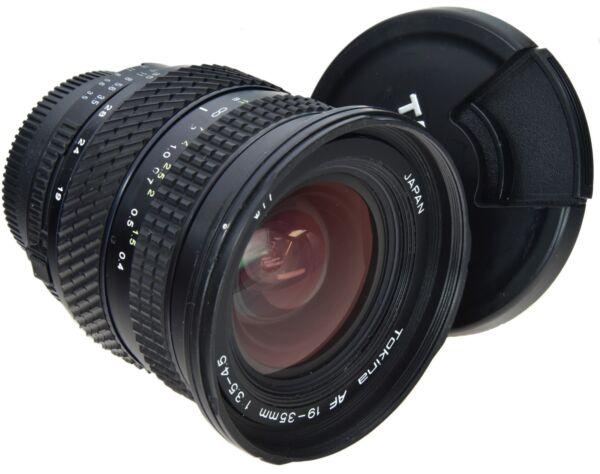 Grosses Soldes Nikon Af Tokina 19-35 Mm 3.5-4.5 Soyez Amical Lors De L'Utilisation