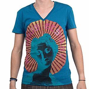 John-Galliano-t-shirt-vneck-ecstasy-size-XS