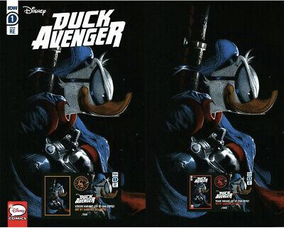 DISNEY DUCK AVENGERS #1 DONALD DUCK DELL/'OTTO TRADE
