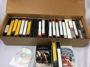 Home Recorded Prerecorded VHS Lot Blank 26 Tapes Total
