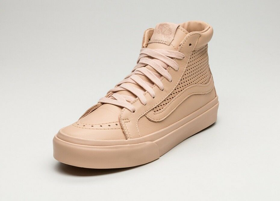 Vans Sk8 Hi Slim Cutout Square Perf Amberlight 9.5 Shoes Mens 8 Women 9.5 Amberlight 006ddb