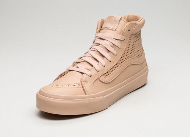 3db9a0a57e85e5 VANS Sk8 Hi Slim Cutout Square Perf Amberlight Shoes Mens 8.5 Women ...
