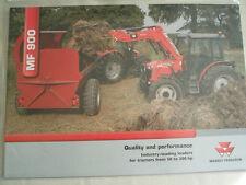 Massey Ferguson MF 900 cargadores para tractores 50 a 300hp FOLLETO Nov 2006