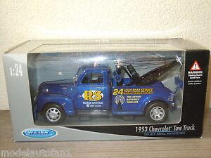 1953-Chevrolet-Tow-Truck-van-Welly-1-24-in-Box-8500