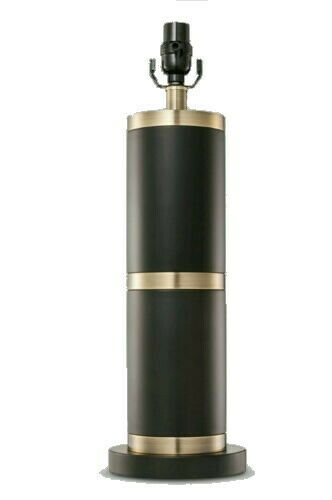 NEW Franklin Table Lamp Light Base (2pk) - Black/Brass (Includes CFL Bulbs)