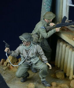 1-35-Scale-WWII-British-Soldiers-in-Action-High-Quality-Resin-Kit-2-Figures