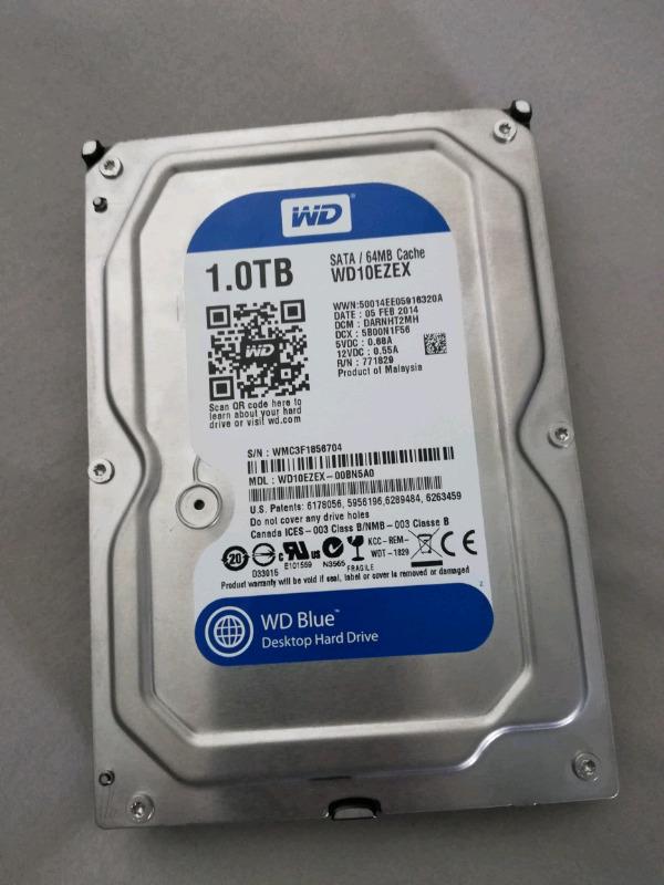 Western Digital 1TB like new