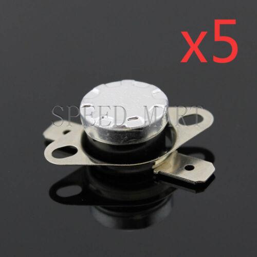 KSD301 5 pcs Temperature Switch Control Sensor Thermal Thermostat 70°C N.C