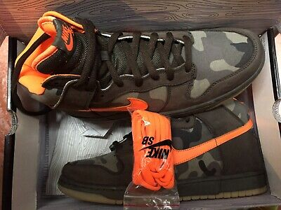 Nike Sb Dunk High Brian Anderson Camo 2006 US 11 EUR 45 UK