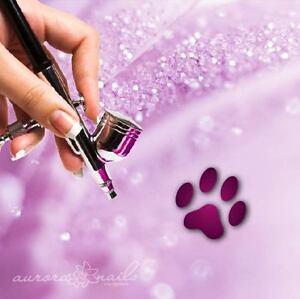 Airbrush-Adhesive-Stencils-m004-Nail-Art-80-Pieces-Dog-pfarte-Animals-Dog