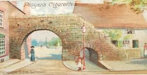 Imperial-Tobacco-celebrated-gateways-Cigarette-Trade-Card-Player-039-s-vintage-a4-46