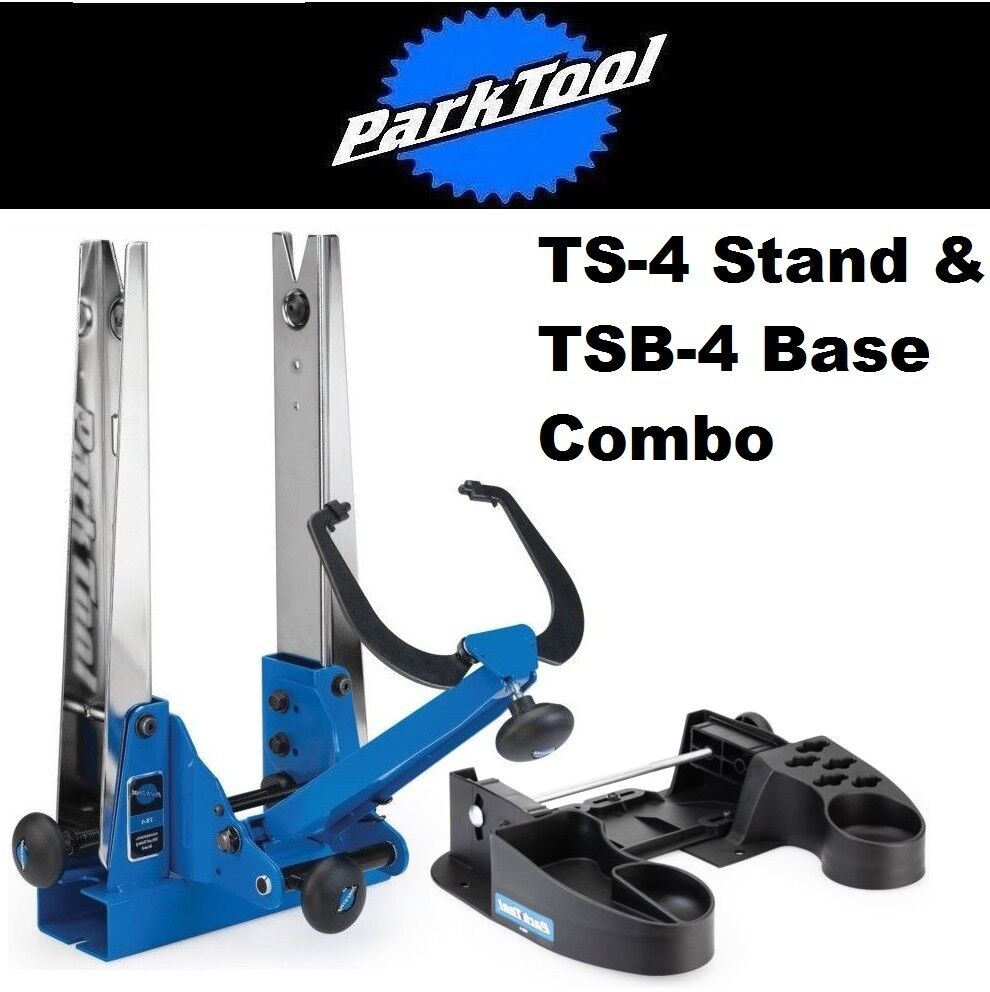 Park Tool TS-4 & TSB-4 Base+ Professional ALL Wheel Truing Stand Fat Bike - 29 +