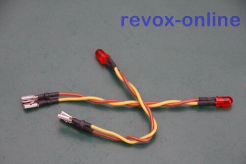 Record-LED für alle Revox B77 NEUWARE 1 Satz 2 Stück Record-Anzeige