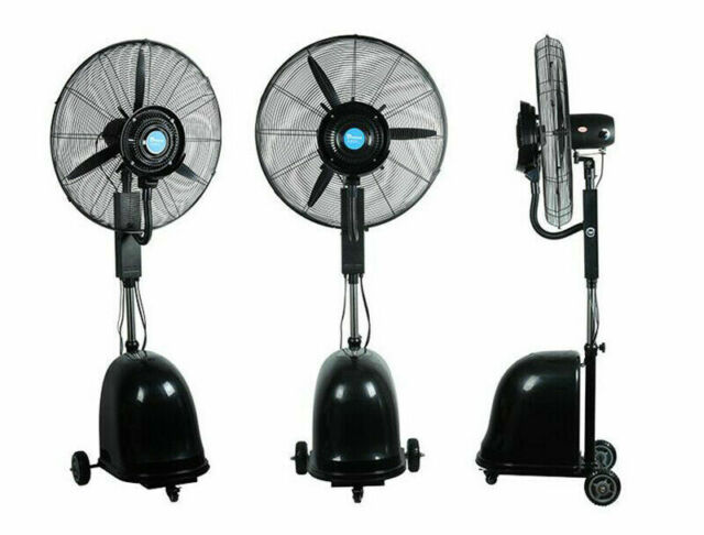 Commercial High Velocity Outdoor Indoor, Commercial Outdoor Misting Fans