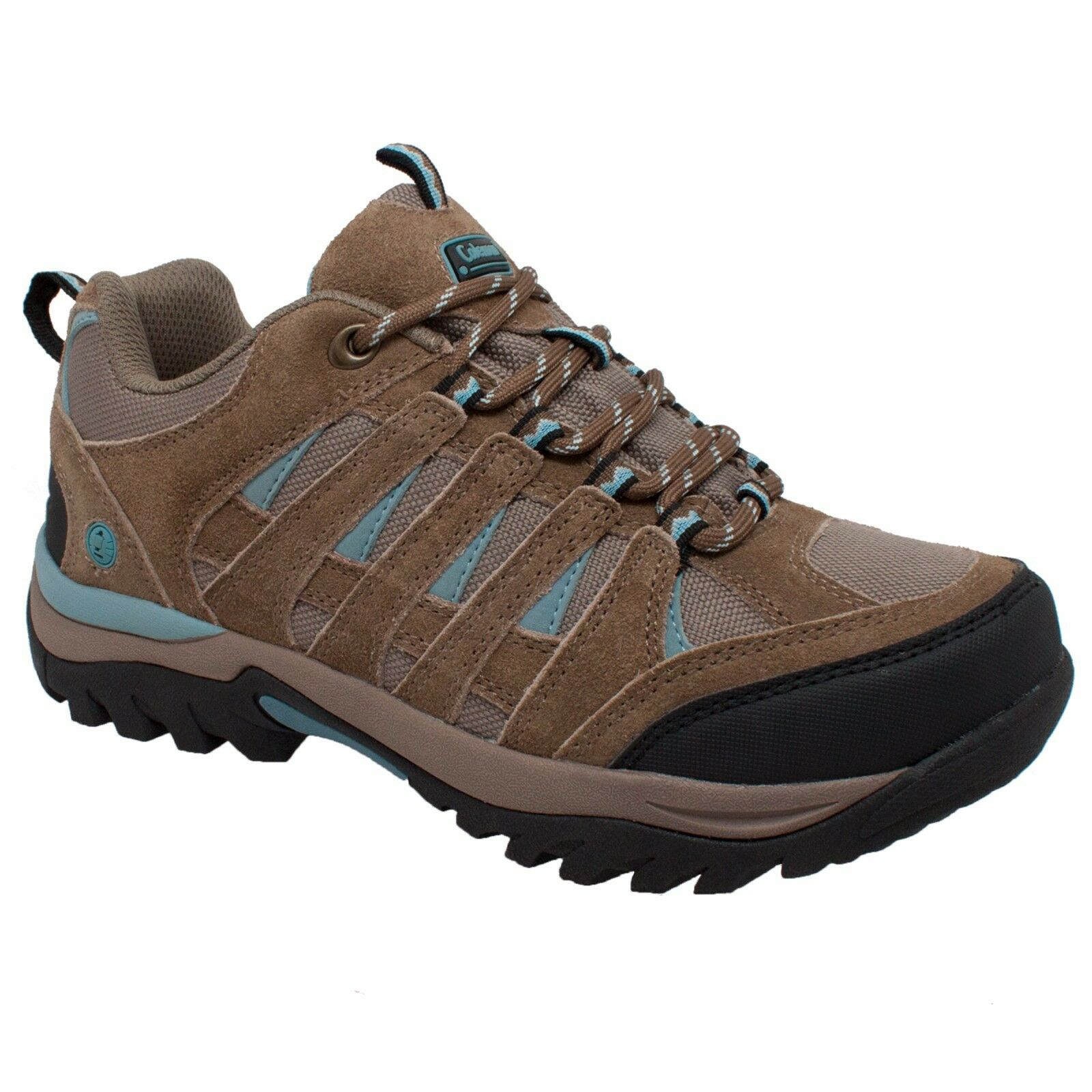 Keystone Braun, Coleman Woman Upper, Hiker Suede Leder Upper, Woman Soft Toe Schuhe 42abc6