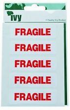 FRAGILE Self Adhesive Sticker Labels 119mm x 63mm (35 Stickers)