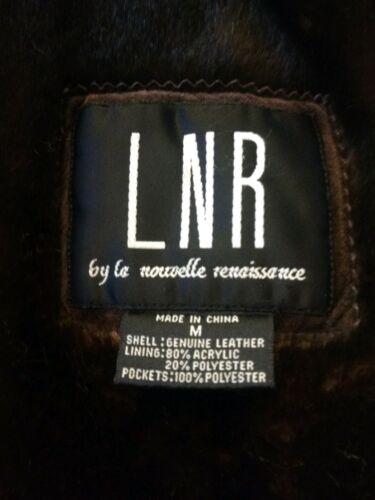 Faux New Renaissance Coat Medium scamosciata Fur Lnr marrone The 300 Pelle wxE5qnnp0