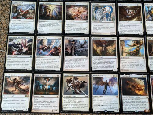 Angels Tribal EDH Magic Card ***Custom Commander Deck*** Sephara Sky's Blade
