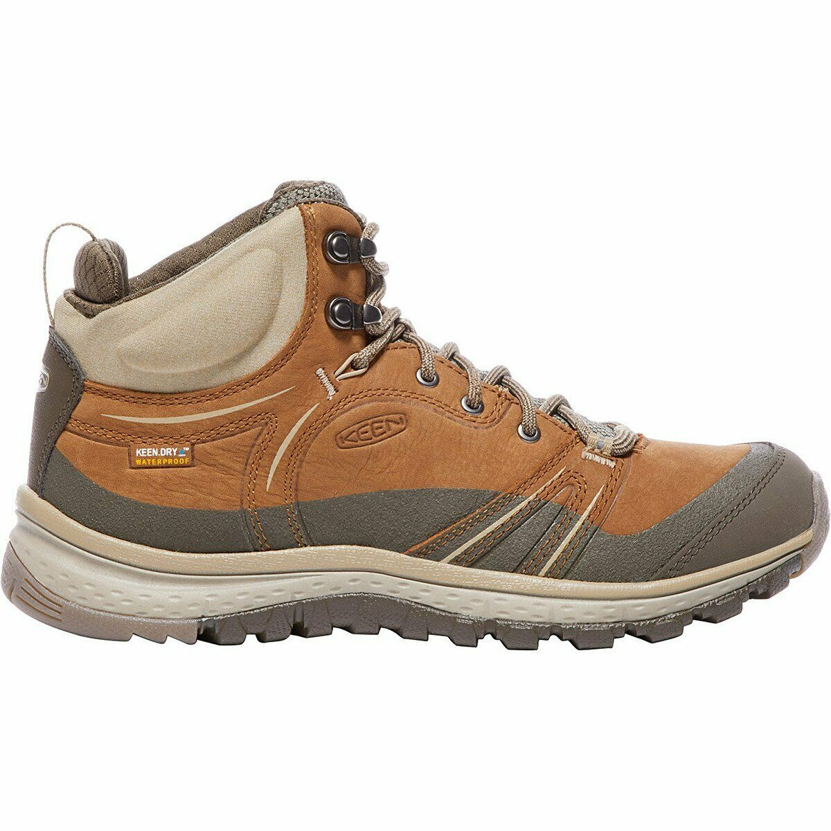 Keen Terradora Leather Mid  Wp Womens Boots Walking - Timber Cornstalk All Sizes  wholesale prices
