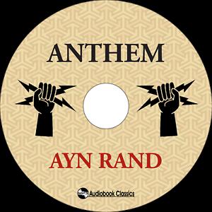Anthem Unabridged Mp3 Audiobook In Paper Sleeve Ebay